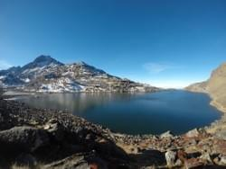 An amazing view of Gosainkunda lake