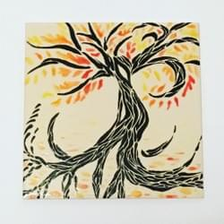 tile painting class example