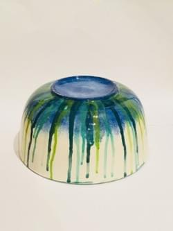 Ceramic painted bowl example