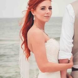 orange beach airbrush wedding makeup