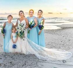 Gulf Shores Wedding Makeup by Lisa Johnson Bridal