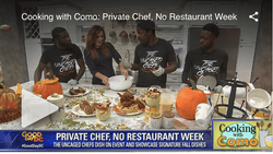 The Uncaged Chefs Private Chef No Restaurant Week