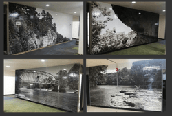 Landscape Scenery Wall Wrap