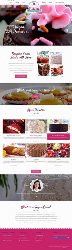 Pastry Artist Full Website