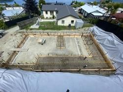 Footings for New Residential Unit
