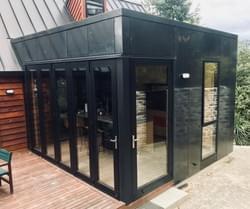 Kitchen Extension, Steel and Foundations - BuildQueenstown