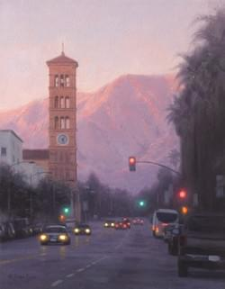 """Pasadena Pinks""  11x14, Oil"