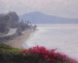 """Above Butterfly Beach""  8x10, Oil, $975"