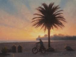 """West Beach Cruising"" 9x12, Oil, $1100"