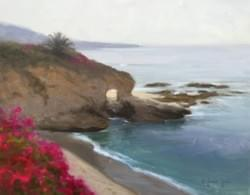 """South of Laguna"" 11x14, Oil, $1100"