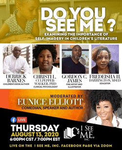 """Do You See Me?"" a virtual panel discussion"