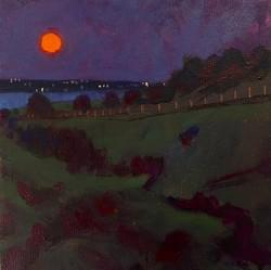 'Harvest Moon - Hengistbury Head'