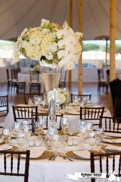 Galley Beach Wedding, Nantucket Island.  Flowers by Soiree Floral, photograph by Runaway Bride Nantucket.