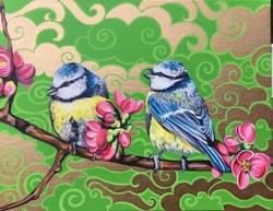 Bird &Bloom - Original Available, €500