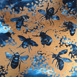 Blue Bee's - Original Sold