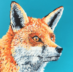 Mr Fox - Original Available - €600