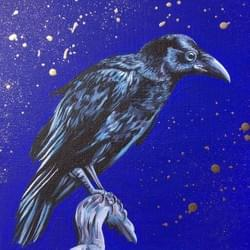 Gold Raven - Original Available - €600