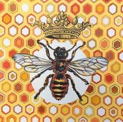 Queen Bee - Framed Original Available - €800