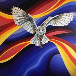 Late Owl - Original Available - €1,500