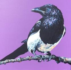 One for Sorrow - Original Sold
