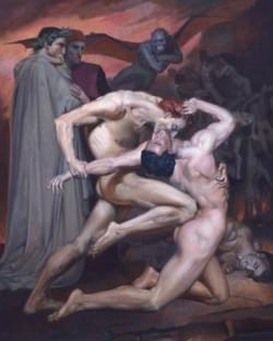 Bouguereau's Dante and Virgil MasterCopy