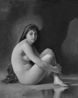 Bouguereau's Seated Nude