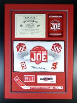 JOE LOUIS ARENA MEMORABILIA