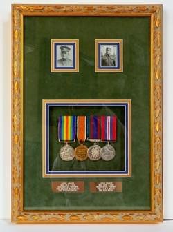 WAR MEDALS  WORLD WAR I & II