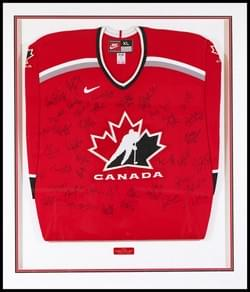TEAM CANADA 2002 OLYMPIC CHAMPIONS