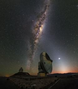 Dawn at La Silla Observatory