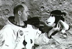 Apollo 10 and snoopy