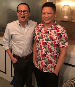 Visits from Mr Richard Li, Chairman and CEO of Pacific Century Group