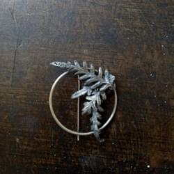 Bracken Fern Brooch, 2018