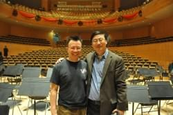 Mark Tse with Dr. Zhao-Rong Peter Chen