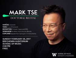 Mark Tse's doctoral recital