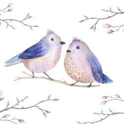 purple-pair-birds