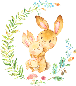 bunnies-wreath