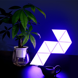 triangle table lamp