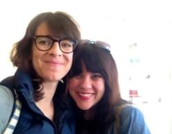 Susanna Fogel (Latino Screenwriting Project advisor) + Me