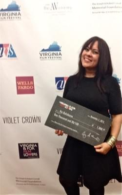 Is it weird posting a picture with a novelty check?
