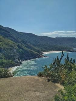 Pedra da Tartaruga's Perigoso and Meio's beaches.