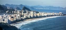 Copacabana beach.