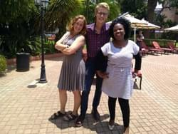 Ryan, Mme Teliso (the HIV Coordinator for Peace Corps Lesotho), and I attended the HIV Bootcamp hosted by Peace Corps Office of Global Health and HIV for a week in Lusaka, Zambia.