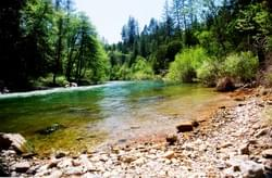 Bear River, Nevada County California by Alden Olmsted