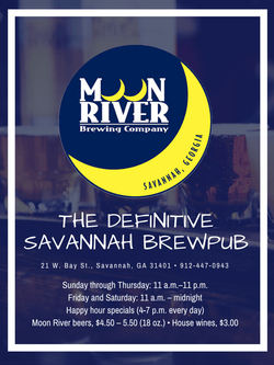 Moon River Brewpub Savannah, GA