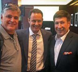 Sean Hannity, Brian Kilmeade and Mark Simone