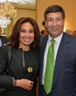 Mark Simone and Jeanine Pirro