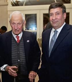 Mark Simone and Robert Morgenthau