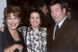 Joy Behar, Susie Essman, Mark SImone