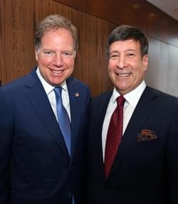 With U.S. Attorney for the Southern District Geoffrey Berman